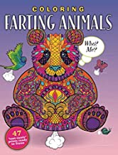 """COLORING FARTING ANIMALS: 47 """"TOOT-TASTIC' PRINTS READY TO FRAME"""