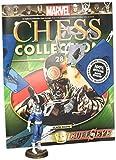 Marvel Chess Collection Revista con Pieza de Ajedrez #01 Spider-Man (caballo blanco)