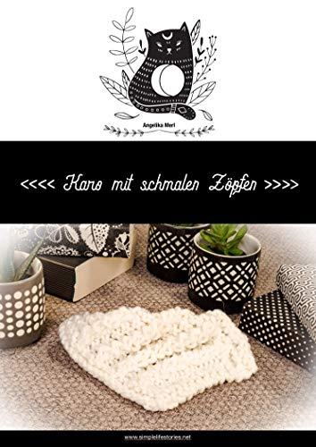 Strickanleitung: Karo mit schmalen Zöpfen: Karo für die Kuscheldecke selber stricken