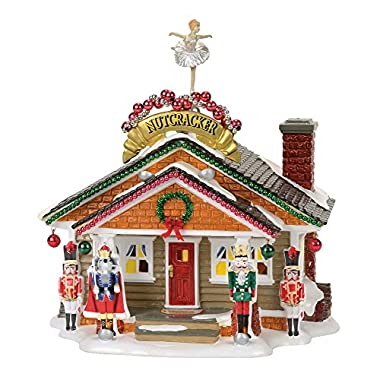 Department 56 Snow Village the Nutcracker House Lit Building, Multicolor