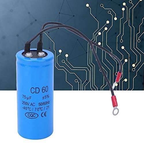 CD60 condensador de arranque de motor de corriente de impulso para frigorífico