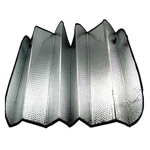 SIZHINIAN Universal Reflective Car Aluminiumfolie Windschutzscheibe Sonnenschutz Frontscheibe Sonnenschutz Windschutzscheibe Visierabdeckung UV-Schutz