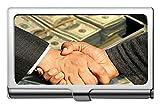 Estuche profesional para tarjetas de crédito/estuche de identificación, dinero Conclusión del contrato Estuche/titular/estuche para tarjetas de crédito de capital