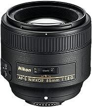 Nikon 85mm f/1.8G AF-S FX Nikkor Lens - Refurbished by Nikon U.S.A.