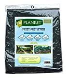 the Planket Frost Protection 10 x 12 ft Rectangular Plant Cover, Green...