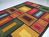 BuyElegant Art Thème Anti-dérapant Zone Tapis/moquettes fabriqué avec 100% de Polyester et...