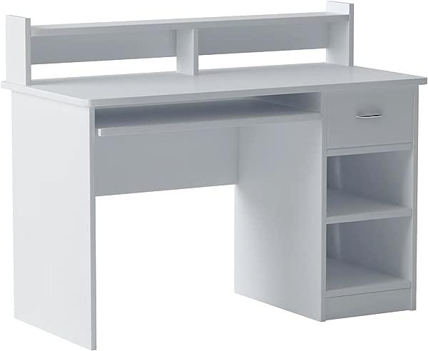 OneSpace 50 LD0101 Essential Computer Desk Hutch White