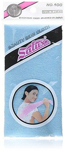 SALUX Nylon Japanese Beauty Skin Bath Wash Cloth/Towel - Blue