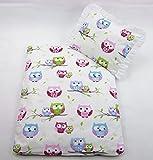 Rawstyle 4 tlg. Set Bezug für Kinderwagen Garnitur Bettwäsche Decke