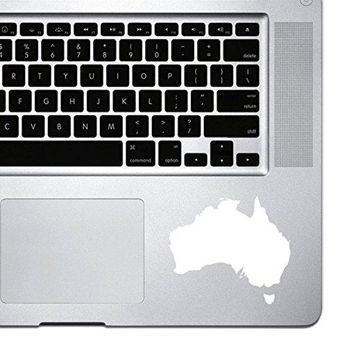 StickAny Palm Series Australia Silhouette calcomanía para MacBook Pro, Chromebook y portátiles (predeterminado)