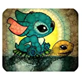 LeonardCustom- Personalized Rectangle Non-Slip Rubber Mousepad Gaming Mouse Pad / Mat- Cartoon Lilo and Stitch -LCMPV900