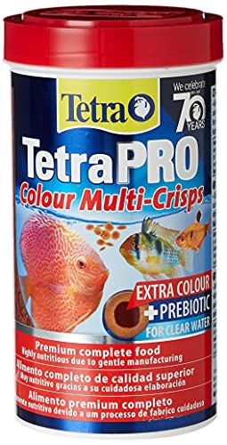 Tetra Pro Colour Fish Food for All Tropical Fish and Extra Colour, 500ml