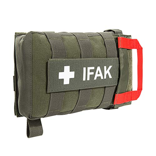 Tasmanian Tiger TT IFAK Pouch VL L Molle-kompatible Erste Hilfe Set Gürtel-Tasche für Wandern Outdoor Reise Polizei-Dienst (Oliv)