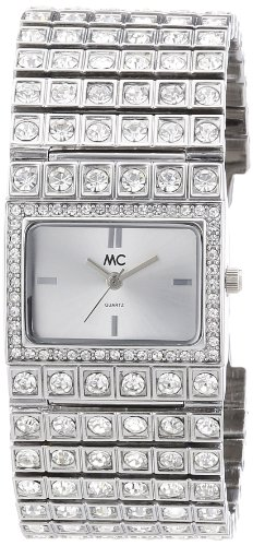 MC Timetrend Damen-Armbanduhr Analog Quarz Metallband 11793