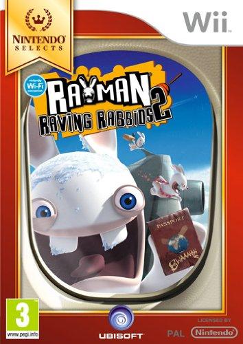 Rayman Raving Rabbids 2 - Nintendo Selects [Importación italiana]