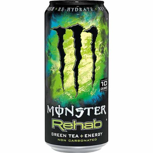 Monster Rehab Green Tea Energy Drink 4 x 0,5l Dose
