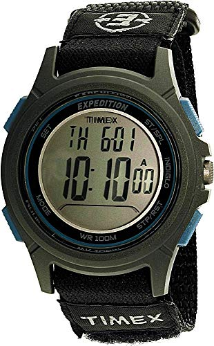 Timex Reloj de Cuarzo Reloj Deportivo de Nailon tw4b10100Negro
