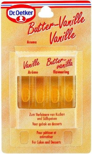 Dr. Oetker Butter-Vanille-Aroma 4er
