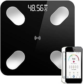 Báscula De Baño Body Fat Scale Floor Scientific Smart Electronic Led Digital Peso Baño Balance Bluetooth App Android O Ios Bluetooth Hot B