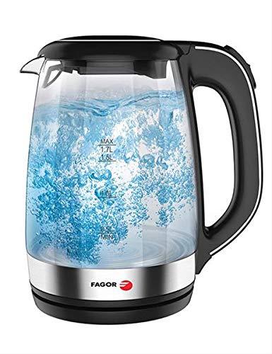 Fagor Hervidor de Agua FG120 Teya 2200W1.7L Negro, 4+64GB