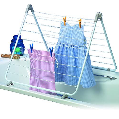 Rayen 0037 - Tendedero bañera plegable, capacidad de tendido 10 metros