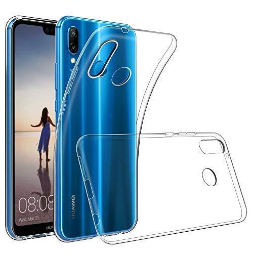 GeeRic Kompatibel Für Huawei P20 Lite Hülle Silikon, Ultra Thin Tasche Cover Schlank Weich Flexibel Anti-Kratzer Schutzhülle Abdeckung Case Transparent Kompatibel Mit Huawei P20 Lite (5,84 Zoll)