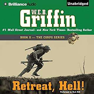 Retreat, Hell! audiobook cover art