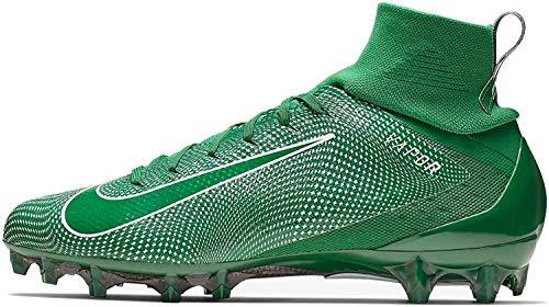 Nike Vapor Untouchable 3 Pro 917165-300 Green-White Men's Football Cleats 10.5 US