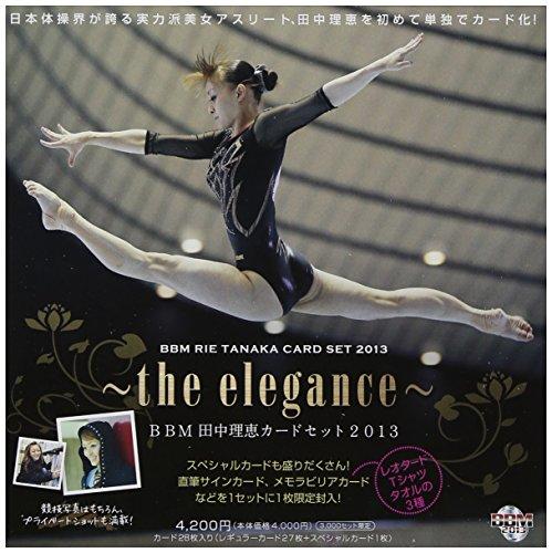 Baseball Magazine BBM Tanaka RIE Card Set 2013 Box (Japan Import)