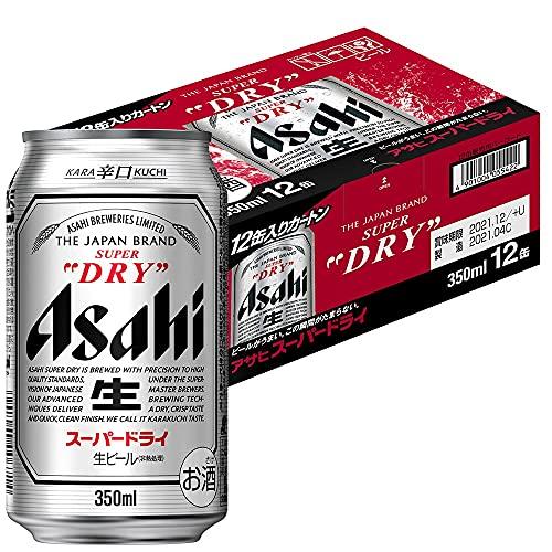 アサヒ スーパードライ [ 350ml×12本 ]