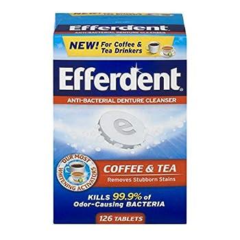 Efferdent Denture Cleanser Tablets 126 Count