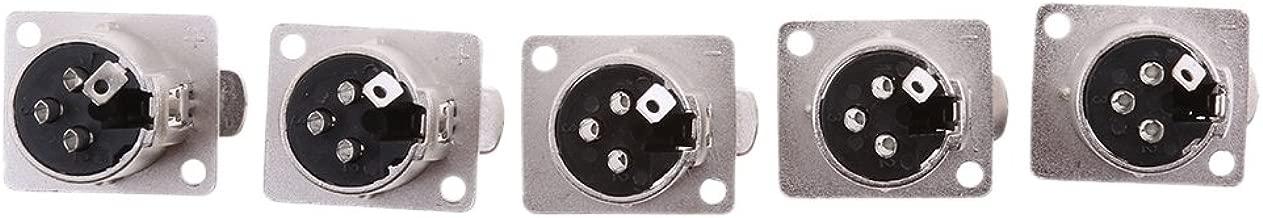 3-pin Xlr Mâle du châssis du panneau monté Socket Plug Connecteur Pour Microphone