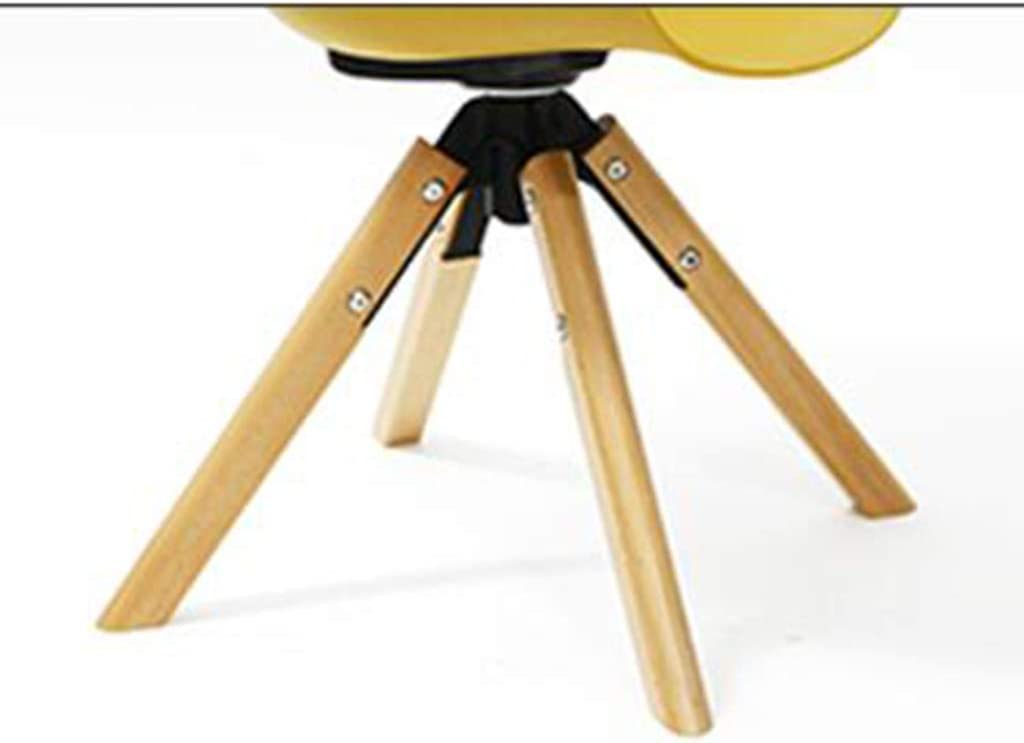 LAOMAO Chaise/Petit siège/Chaise de Salle à Manger Minimaliste Moderne Chaise de café créatif Chaise de Salon à la Maison (Couleur : C-Yellow) C-yellow