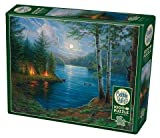Cobble Hill 1000 Piece Puzzle - Summer Night - Sample Poster Included