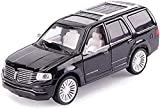 Classic Model Learning Toy, Car Model Compatible with Lincoln Navigator Model Alloy Car Model 1:43 Simulation Car Sound and Light Pull Back Childrens Toy Car Kids Gift
