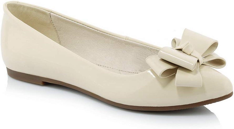 AdeeSu Womens Bows Casual Travel Urethane Pumps shoes SDC05955