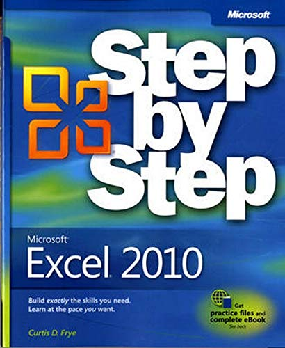 Microsoft Excel 2010 (Step By Step)