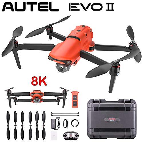 DishyKooker RC Drone Quadcopter para E-V-O 2 Series E-V-O II PRO Dual GPS 9KM FPV con cámara HD 8K 48MP/6K Tiempo de vuelo 40 minutos Fast and Agile