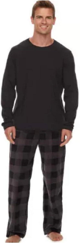 Kohl's Men's Sleep Top & Microfleece Sleep Pants Set