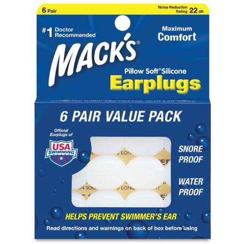 Pillow Soft Silicone Earplugs