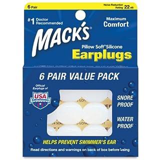 Mack's Pillow Soft Silicone Earplugs - Pack of 2 (B00DRYTHL4) | Amazon price tracker / tracking, Amazon price history charts, Amazon price watches, Amazon price drop alerts