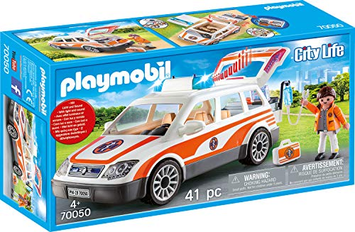 Playmobil City Life 70050 Mobiel Medisch Team