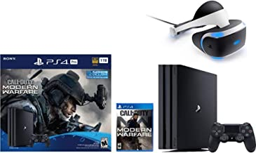 Newest Sony PlayStation 4 Pro 1TB Console Call of Duty: Modern Warfare Bundle W /PlayStation VR Core Headset