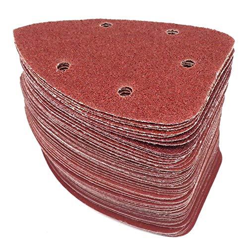 Hojas de lija Herramientas abrasivas, papel de lija 25pcs au
