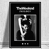 JLFDHR Leinwand Bilder 40x60cm Poster druckt das Weeknd