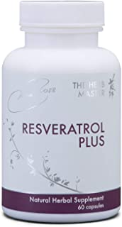 Resveratrol Plus – Duo Blend of Resveratrol and Cinnamon, High Quality, Capsules - by Nora Ross