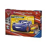 Ravensburger- Puzzle 2 x 12 Piezas, Cars 3 (07614)