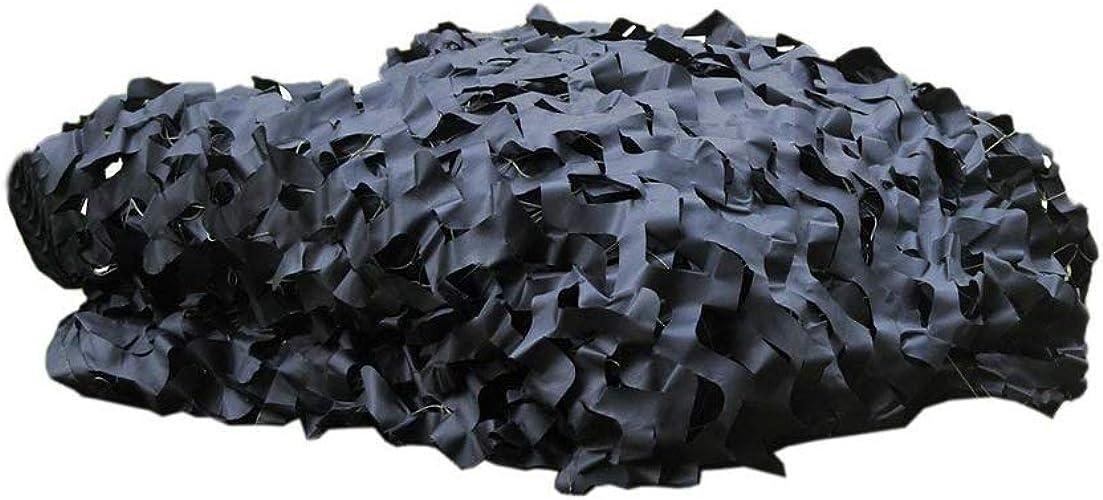 Bache,Filet de camouflage Filet de camouflage Couverture de camouflage Noir filet de camouflage Convient pour le camping forêt cachée chasse à la piscine piscine camouflage tente parasol photographie