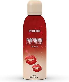 Perfume Floral-Frutal para Mujer Larga Duración Perfume en Formato Spray 150 ml Ideal para regalo (CHIARA)