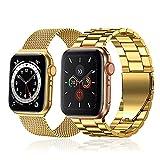 baklon 2 pezzi compatibile con cinturino Apple Watch 38mm 40mm, cinturino in acciaio inossidabile di ricambio sportivo compatibile con iWatch series SE/6/5/4/3/2/1